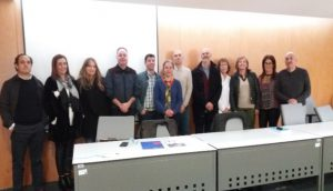 Members of the boards of the Portuguese Prison Education Association (APEnP)