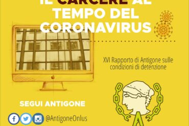 Prison in the time of the Coronavirus. XVI Antigone report on the conditions of detention.