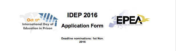EPEA Calls for applications IDEP Publicity-Award 2016