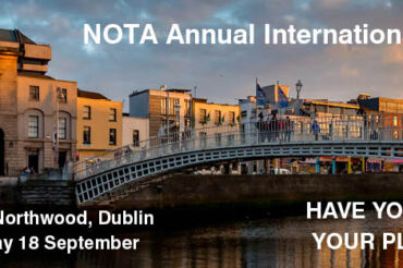 NOTA Conference 16 Sept