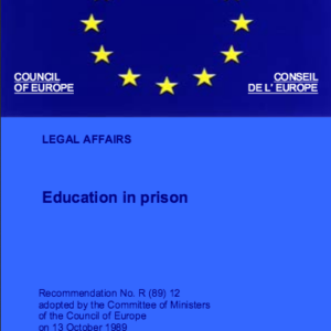 Education in Prison CoE