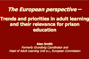 Trends and Priorities in Adult Learning – Alan Smith