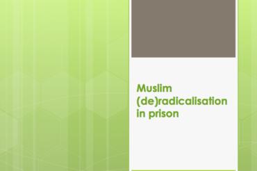 Muslim (de)radicalisation in Prison – Koen Lambrechts