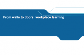 From walls to doors: workplace learning – Jürgen Van Poecke