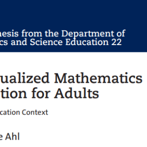 Distance mathematics education as a means for tackling impulse control disorder: the case of a young convict
